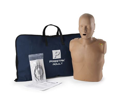Prestan Professional Adult CPR Training Manikin Dark Skin