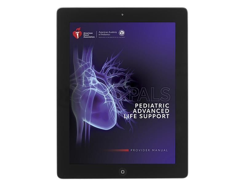 20-2812 IVE Pediatric Advanced Life Support (PALS) Provider Manual eBook
