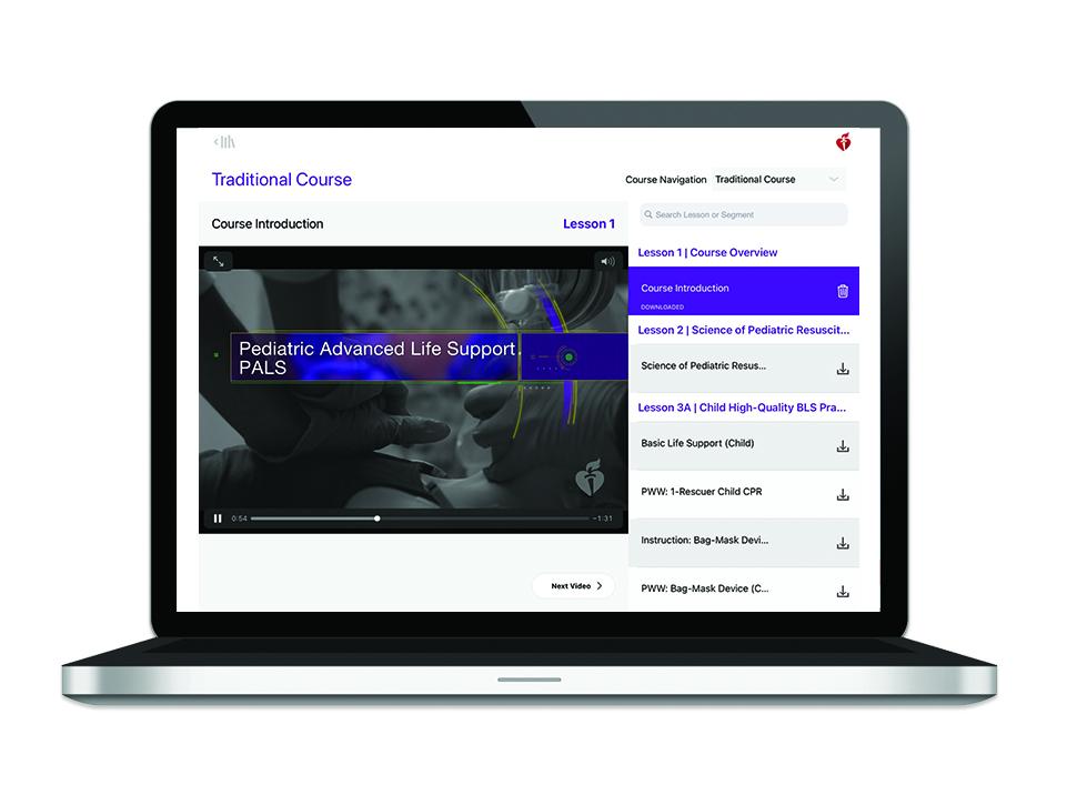 20-1424 Pediatric Advanced Life Support (PALS) Course Digital Videos