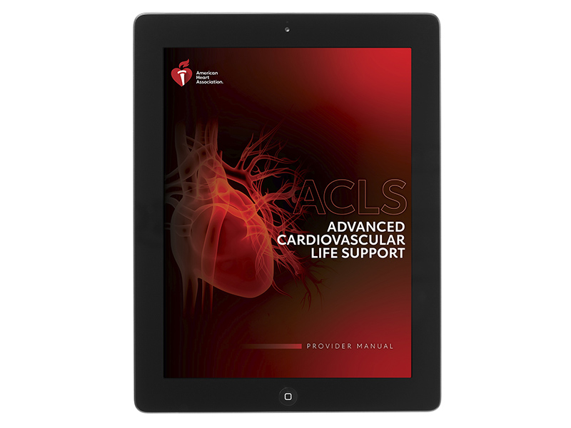 20-2806 IVE Advanced Cardiovascular Life Support (ACLS) Provider Manual eBook