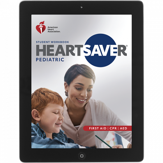 20-2845 IVE Heartsaver® Pediatric First Aid CPR AED Student Workbook eBook