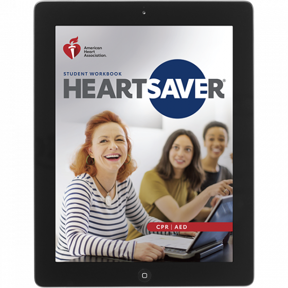 20-2847 IVE Heartsaver® CPR AED Student Workbook eBook